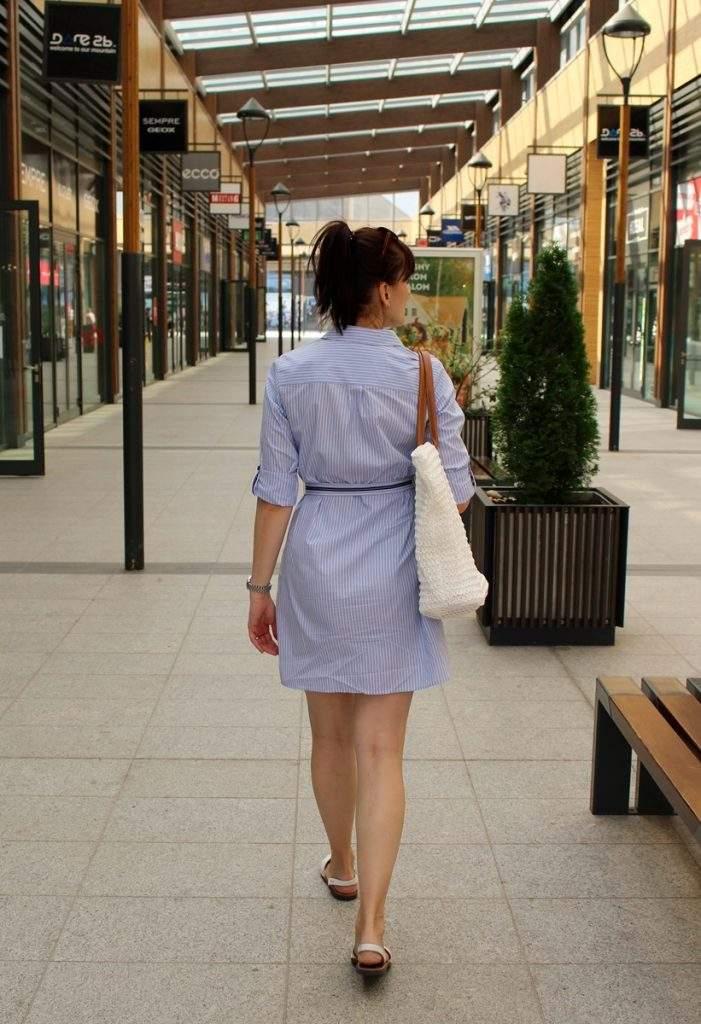 Šaty z obchodu, v ktorom nekúpite iba kávu