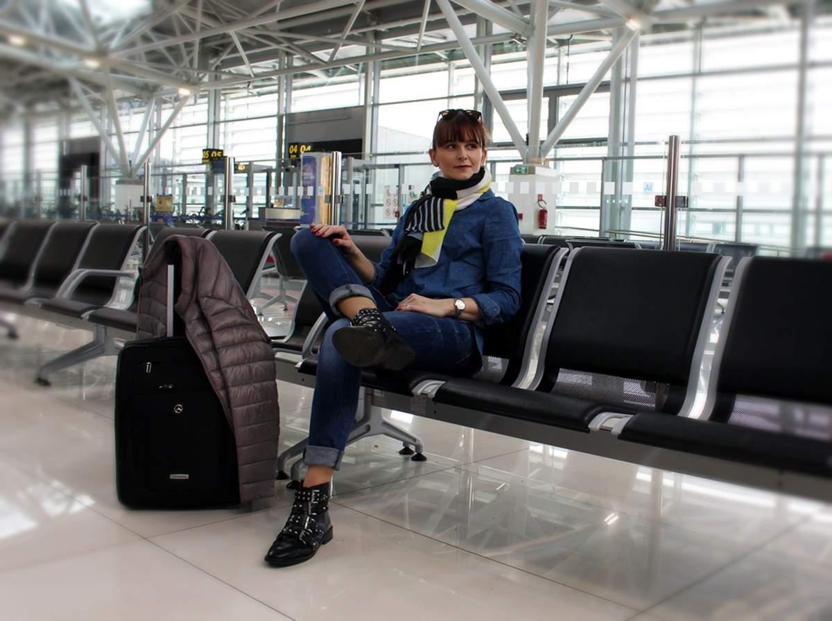 Na letisku - smer Taliansko