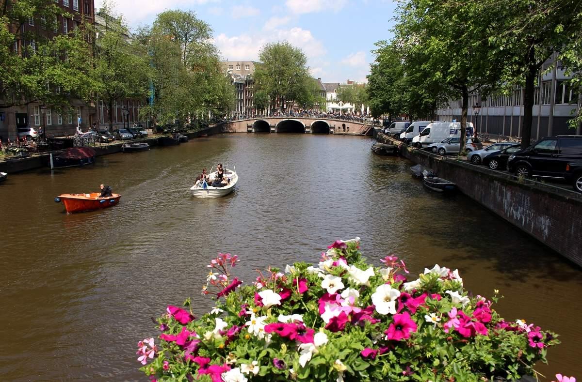 Amsterdam a kanály